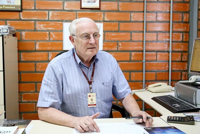 Victor Danich é o diretor do JaraguaTec | Foto Eduardo Montecino/OCP News