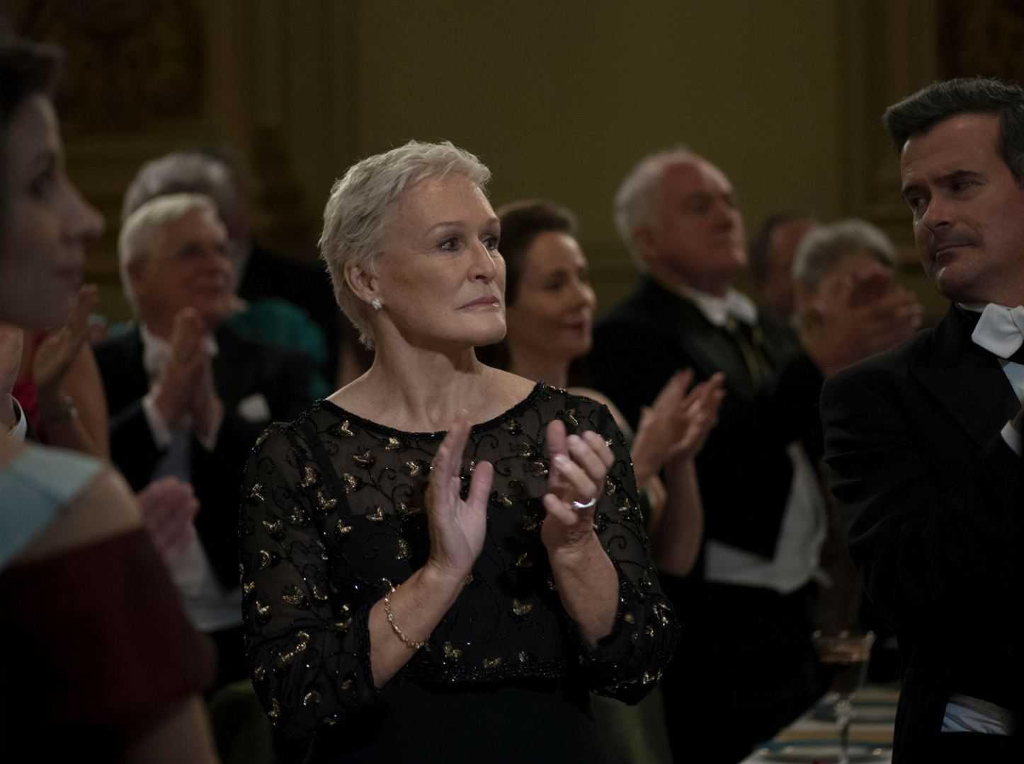 Glenn Close ganhou o Globo de Ourode melhor atriz no longa A Esposa | Foto Divulgação