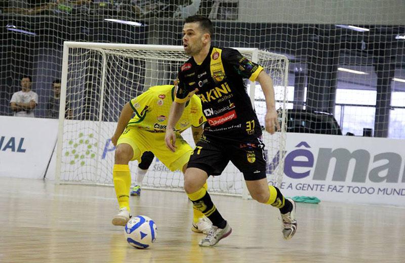 Atleta de 33 anos vai jogar no Blumenau em 2019 | Foto Lucas Pavin/Avante! Esportes