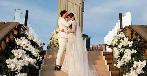 Casamento aconteceu na ultima terça-feira (15): Foto Divulgação/Internet