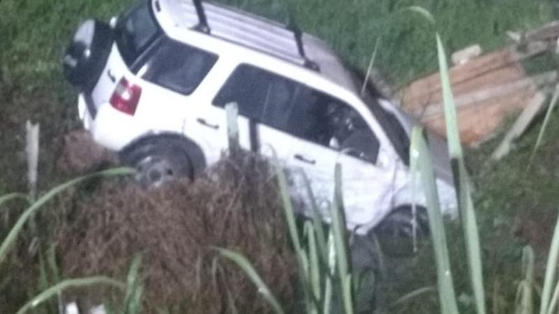 Acidente aconteceu na noite de sexta-feira (11) | Foto: Divulgação