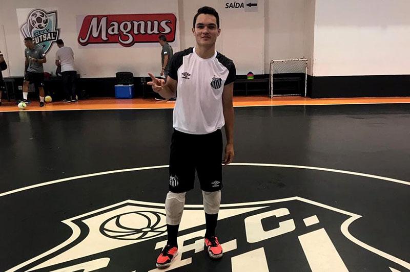 Douglas Queiroz já iniciou os treinamentos no clube paulista | Foto Divulgação