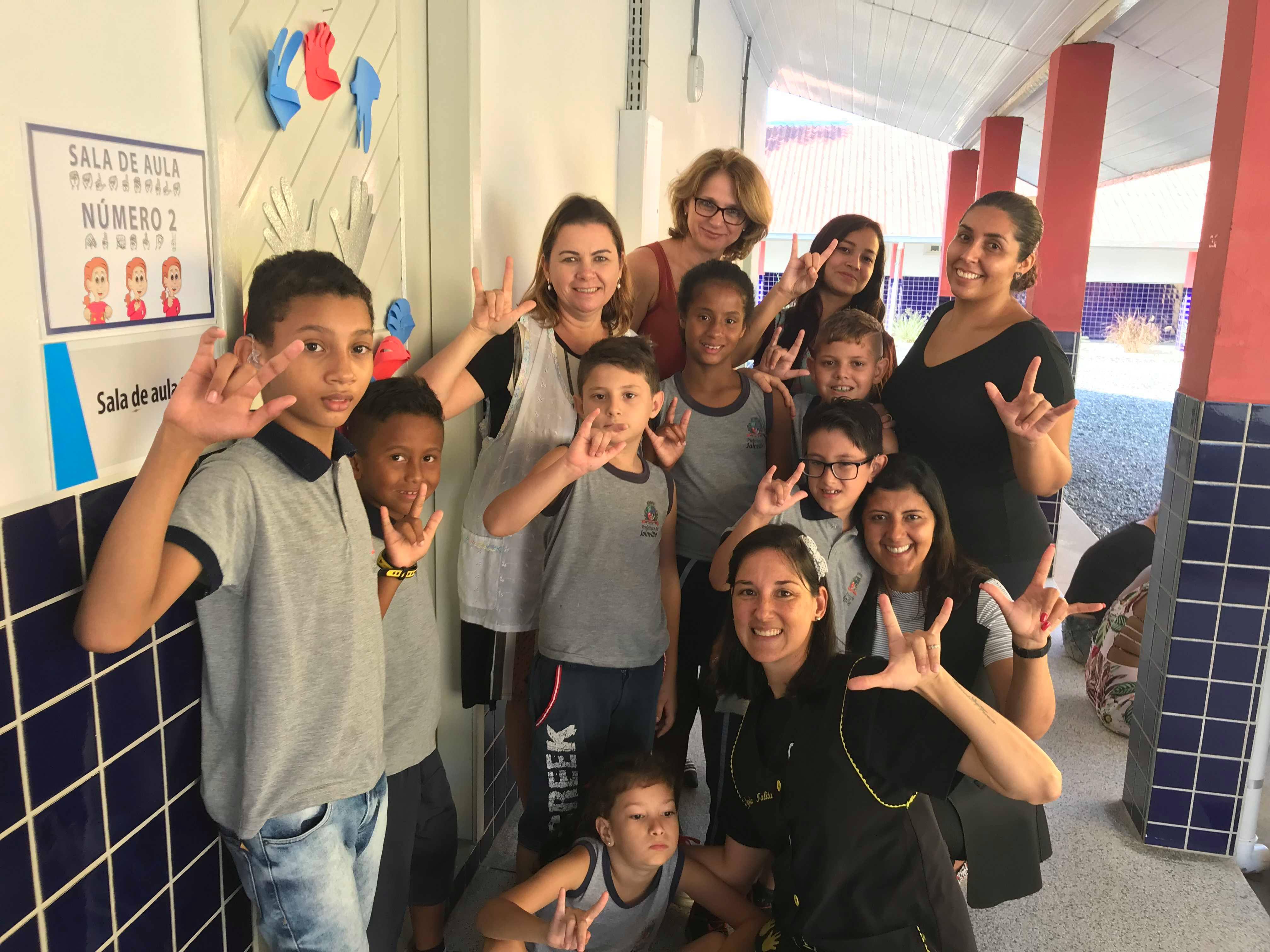 Instituição é municipal e trabalha alfabetização de crianças em libras e língua brasileira | Foto Windson Prado/OCP.News