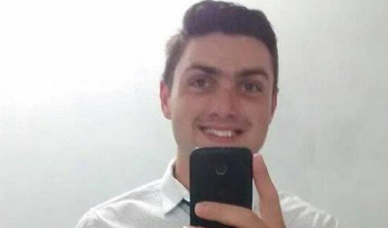 Morador de Navegantes,  Tiago Correa morreu afogado na cidade de José Boiteux   Foto Reprodução