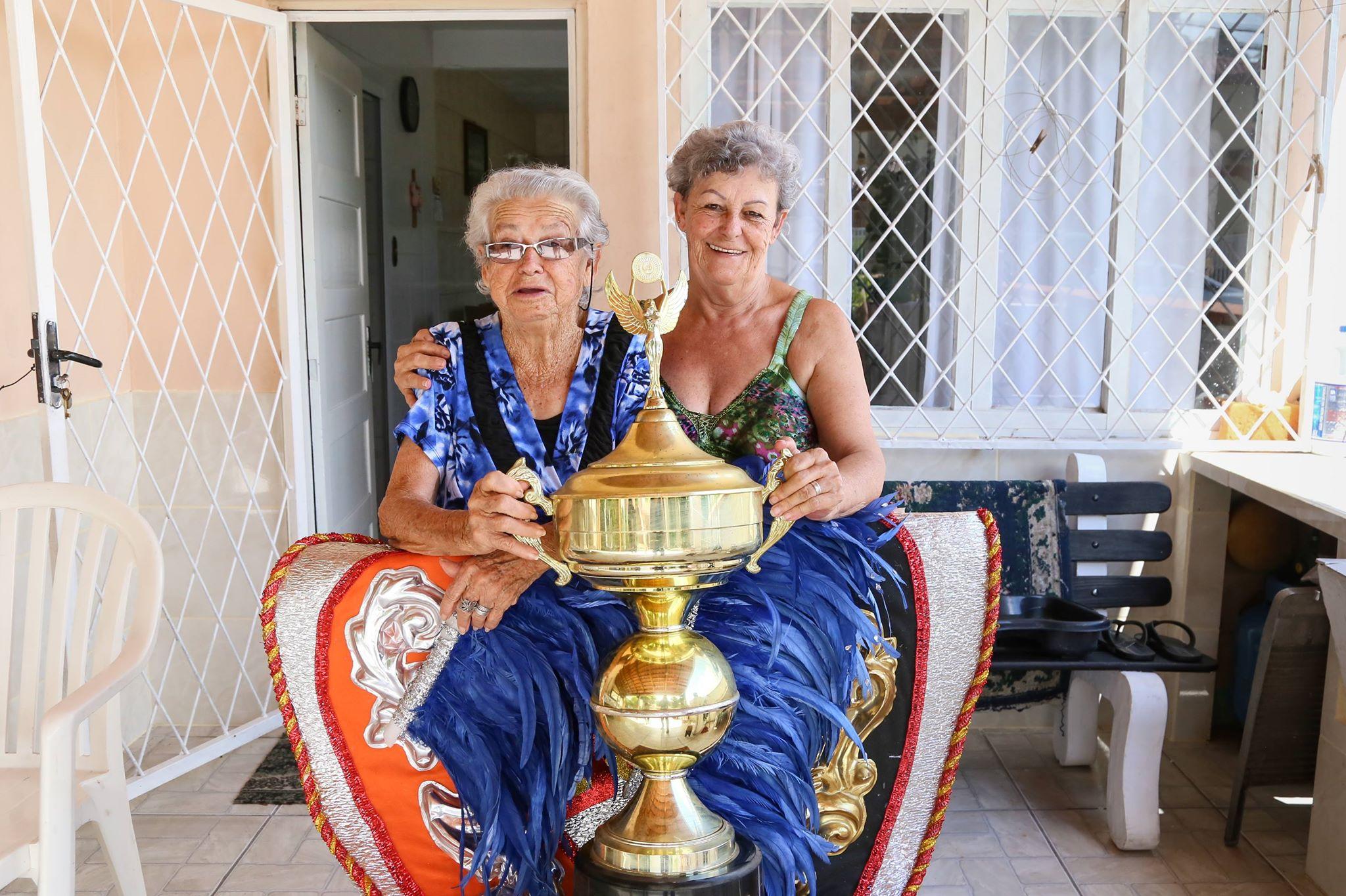 Iracema incentivou sua mãe, dona Nina, a se apaixonar pelo carnaval | Foto Eduardo Montecino/OCP News