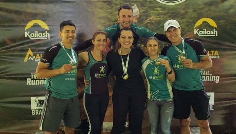 Os medalhistas da equipe Life Well | Foto Divulgação