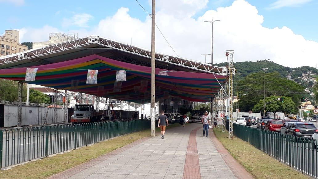 Concentração do Berbigão será na Avenida Paulo Fontes | Foto Ewaldo Willerding/OCPNews