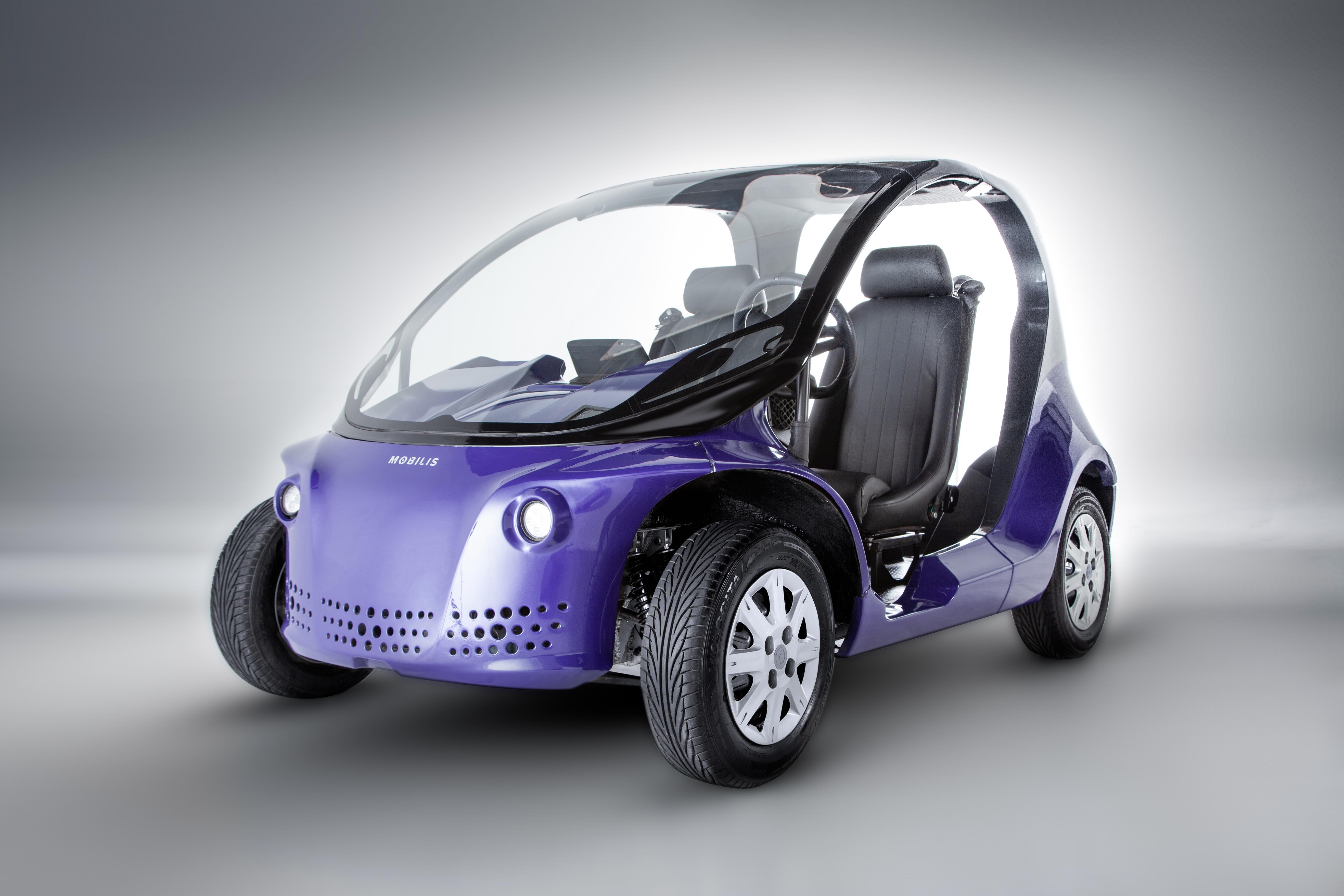 Startup Mobilis disponibilizará unidades do carro elétrico Li, alternativa ecológica aos quadriciclo | Foto Divulgação
