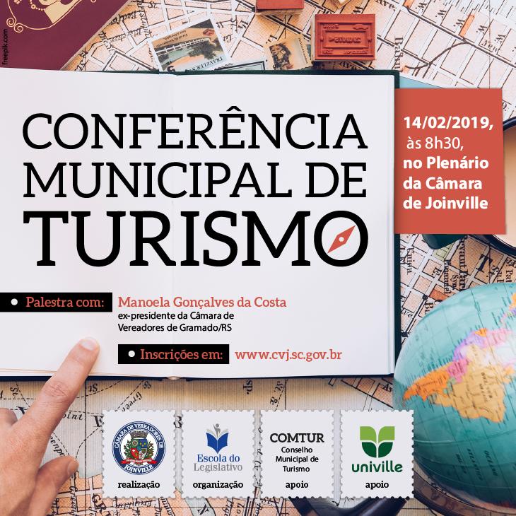 Evento é nesta quinta-feira (14), às 8h30, no plenário da Câmara de Vereadores de Joinville | Imagem Divulgação