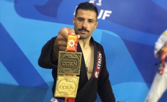 Elizeu Santa Clara garantiu duas medalhas no Curitiba Summer | Foto Divulgação