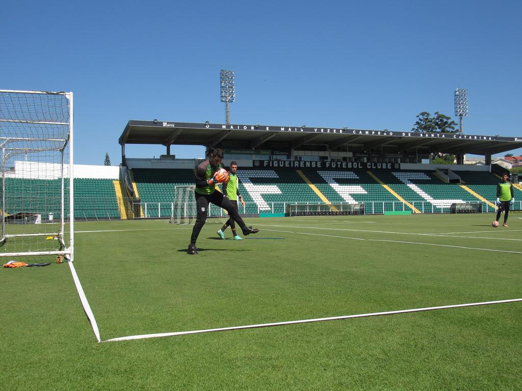 Figueirense volta ao seu estádio na tarde deste sábado (09) | Foto Patrick Floriani | FFC