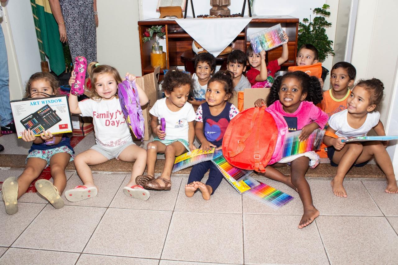 Mais de cinco mil ítens na campanha sustentável de doação de material escolar | Foto PMF/Divulgação