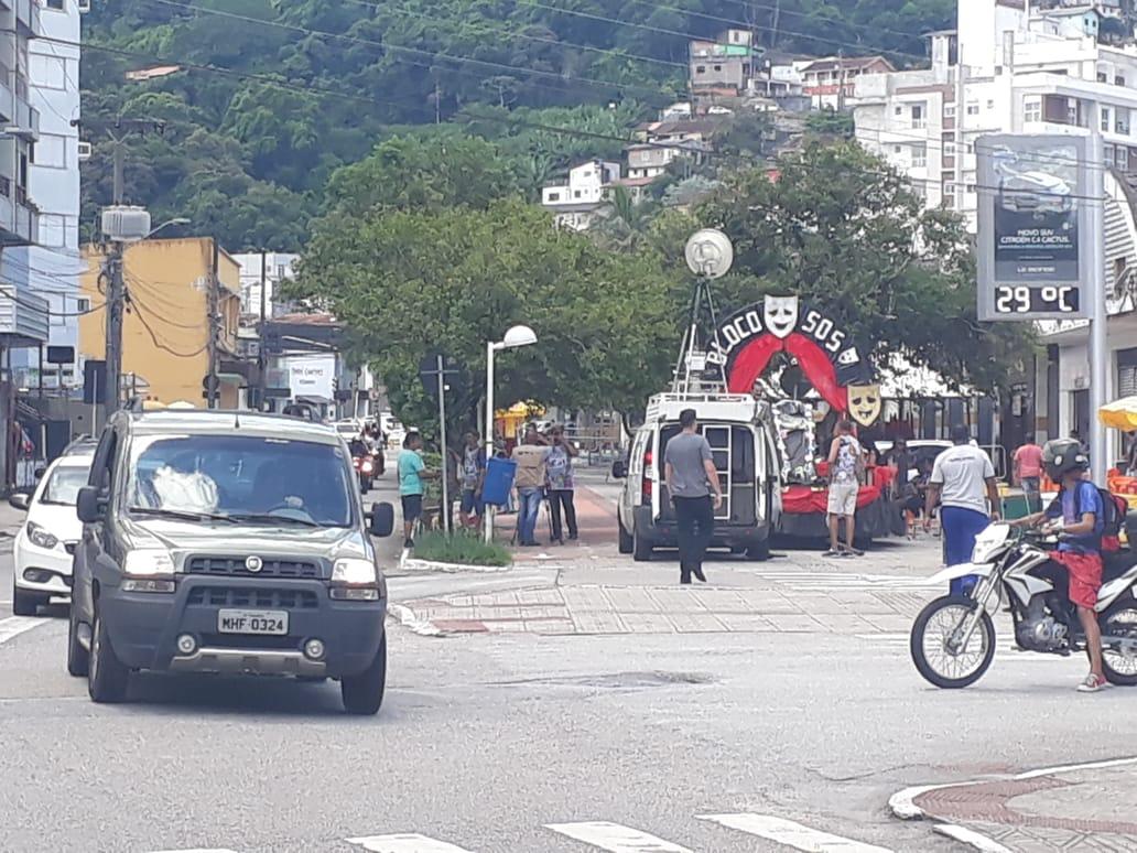 Desfile do Bloco SOS vai alterar o trânsito na Avenida Hercílio Luz/Foto Ewaldo Willerding/OCPNews