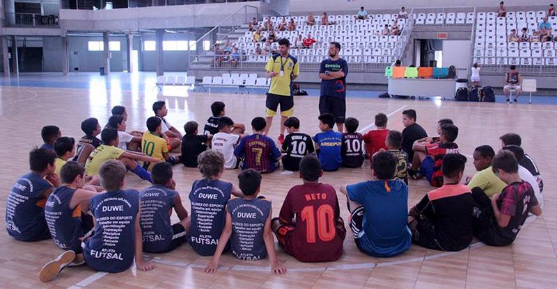 Seletivas aconteceram na Arena Jaraguá | Foto Divulgação/Secel