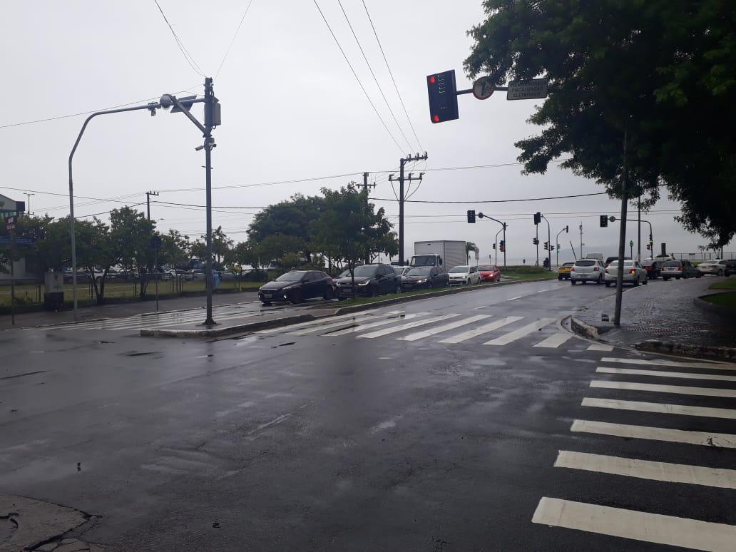 Semana começa com chuva na Grande Florianópolis/Foto Ewaldo Willerding/OCPNews