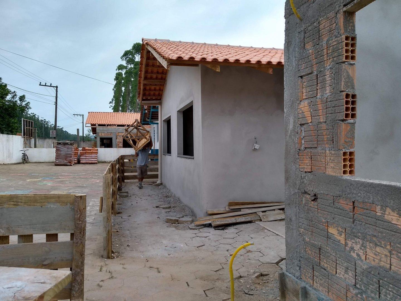 Obra na unidade no bairro Vila Nova deve ser concluída até o final deste ano | Foto Divulgação/Prefeitura de Barra Velha
