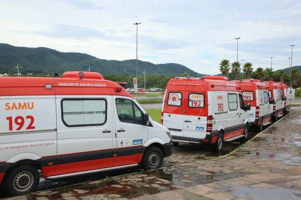Estado recebeu 13 novas ambulâncias para incrementar a frota do Samu | Foto: James Tavares Secom