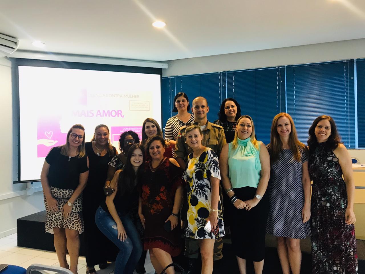 Núcleo de Mulheres Empreendedoras da ACIJ participou do evento   Foto Divulgação