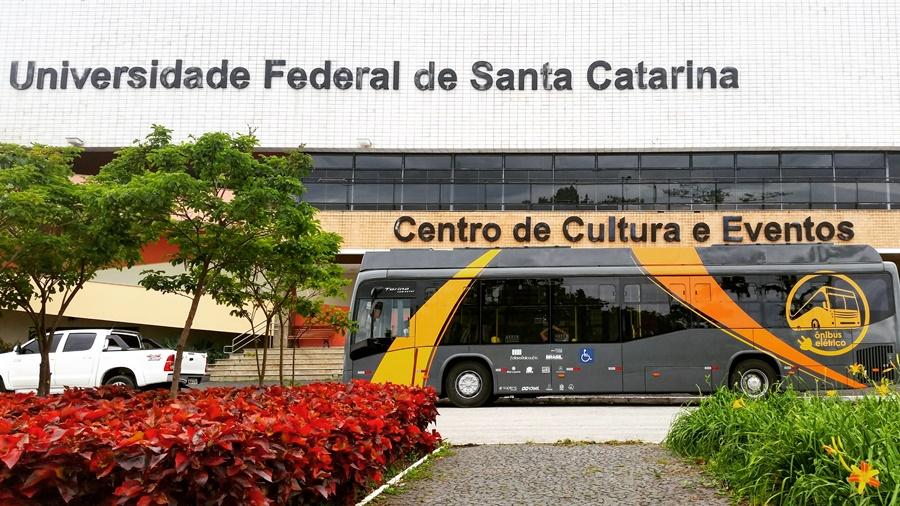 Desde 2017. eBus percorreu mais 100 km na capital catarinense | Foto: UFSC