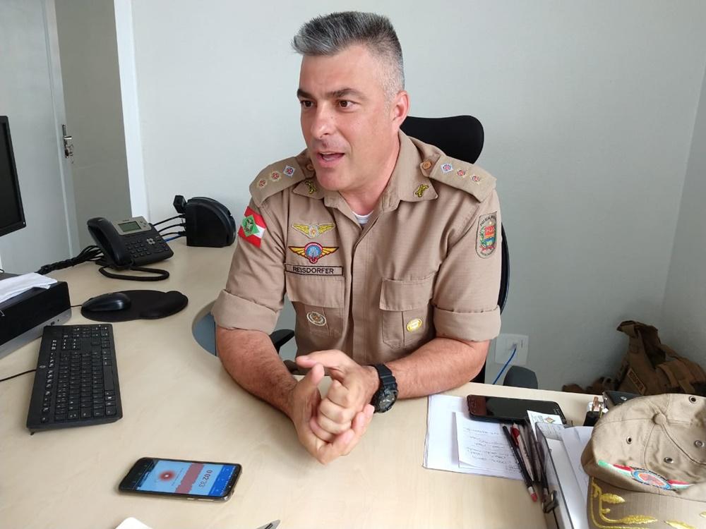 Tenente-coronel conseguiu reduzir índices de criminalidade | Foto Fábio Junkes/Rede OCP News