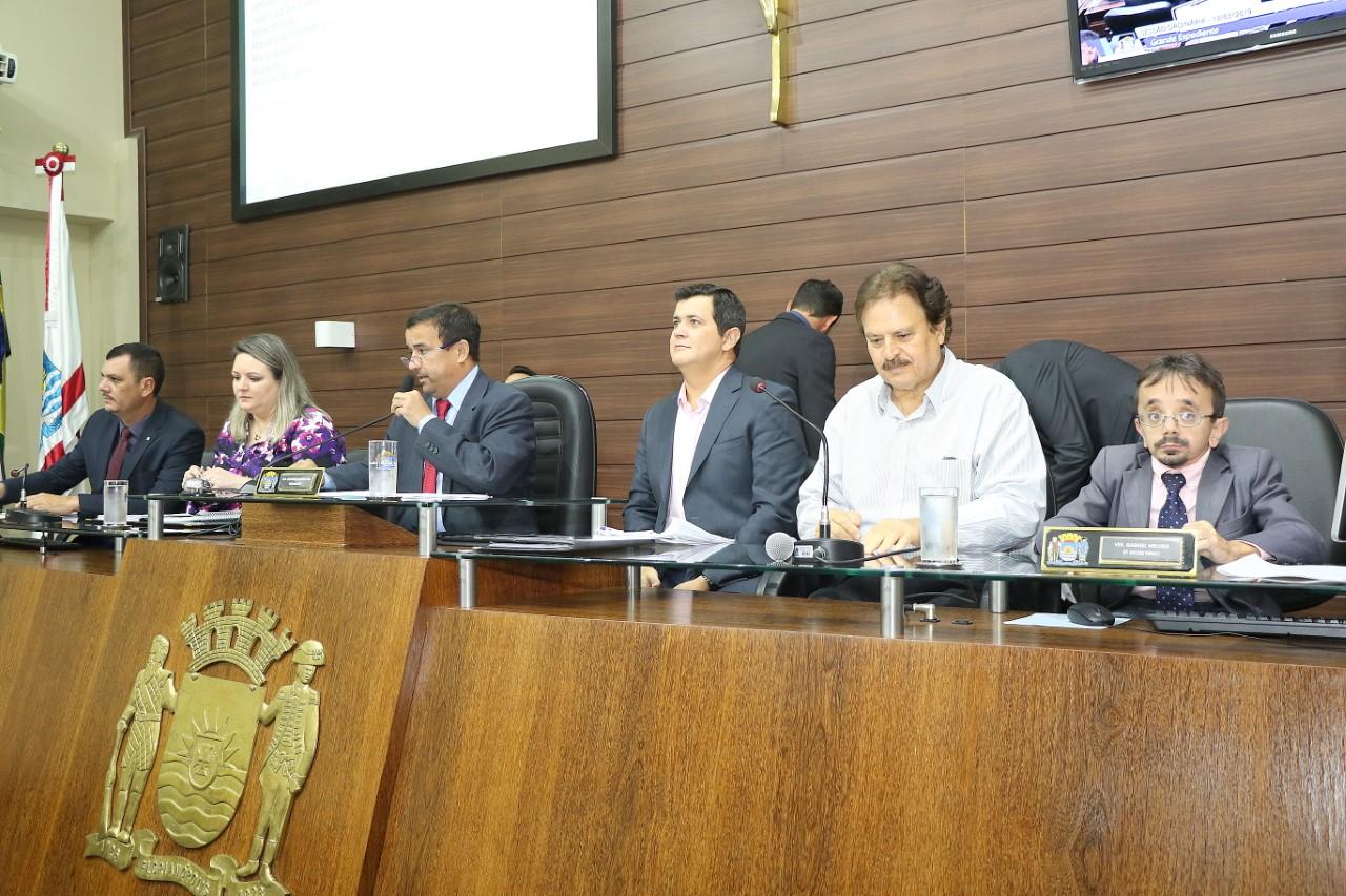 Secretários usaram espaço na sessão da Câmara para dar explicações   Foto Édio Hélio Ramos/CMF/Divulgação
