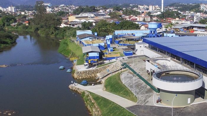 Estação do Samae tem capacidade para tratar mil litros de água por segundo | Foto Eduardo Montecino/OCP News