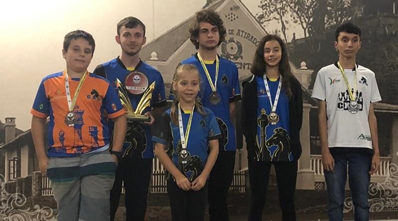 Seis jaraguaenses medalharam no torneio | Foto Divulgação