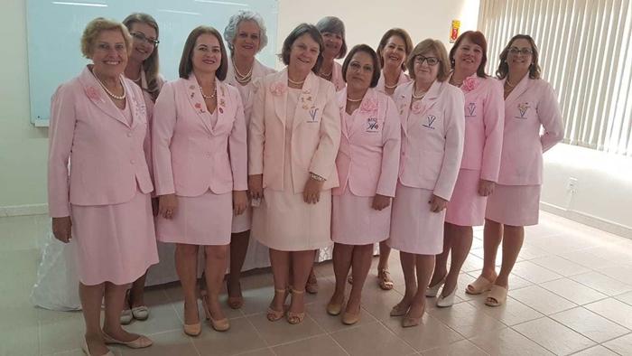 Nova diretoria comandara a Rede Feminina até 2020 | Foto Divulgação/Rede Feminina