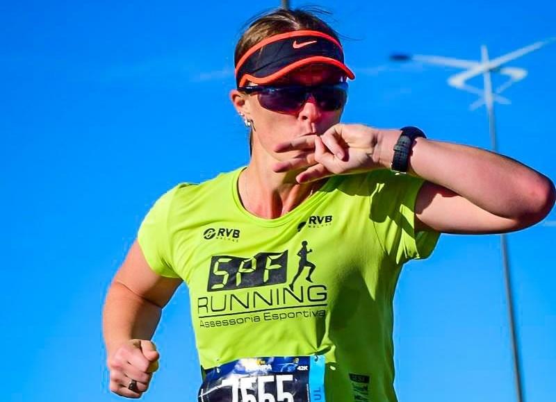 Eliane Hoffmann ficou entre as três melhores colocadas da categoria 35/39 anos | Foto Arquivo Pessoal