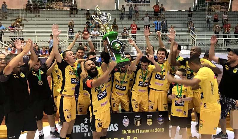 Aurinegro sagrou-se campeão da Copa Três Coroas no mês de fevereiro   Foto Ariane Tadday