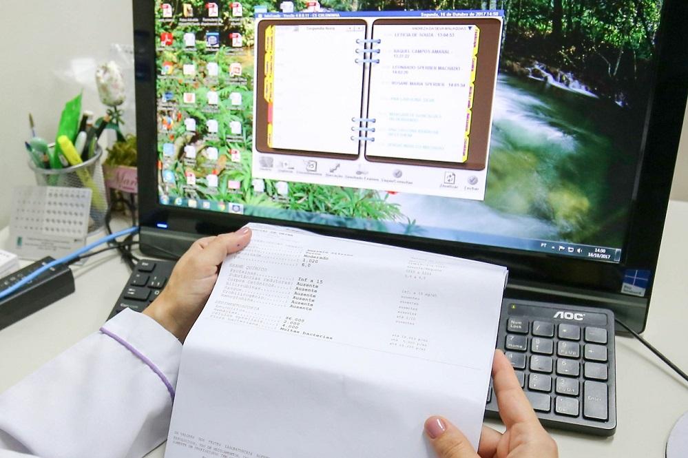 Novo sistema permitirá o acesso e a integração de informações de toda a rede municipal de saúde | Foto Cristiano Andujar/PMF/Divulgação
