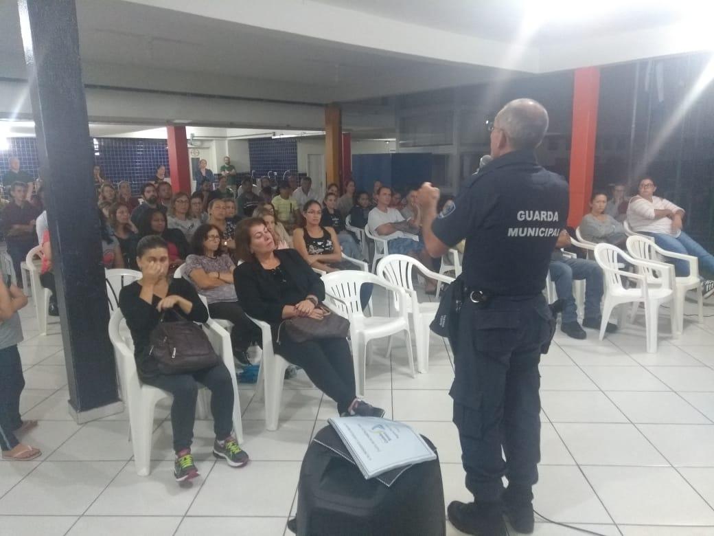 O projeto Escola Cidadã alcançou cinco escolas em 2018 e um total de 2.319 crianças. Para este ano, o objetivo é de dobrar o número de escolas atendidas | Foto Divulgação Guarda Municipal/Secom/Prefeitura de Joinville