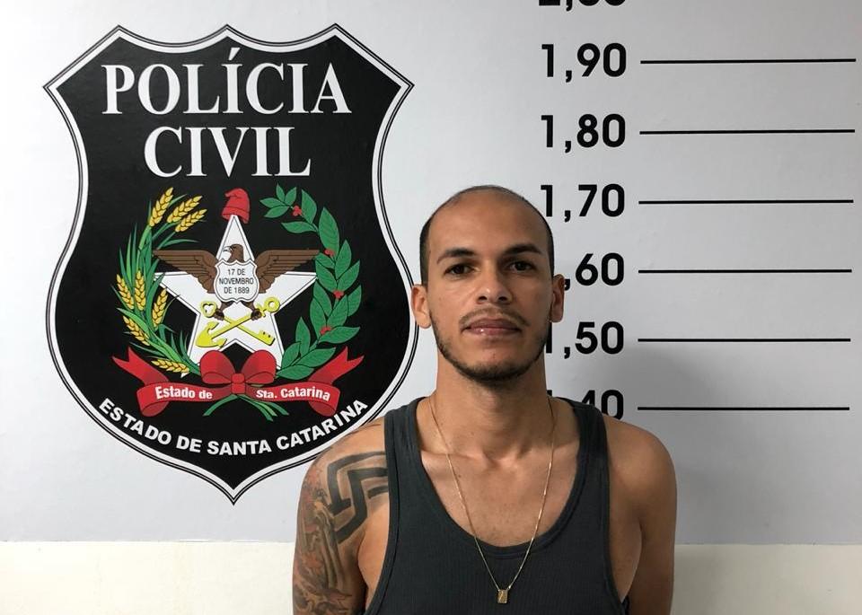 Dirceu Augusto Gallani, 32 anos, terá de cumprir pena de cinco anos e oito meses de reclusão, em regime inicialmente semiaberto   Foto: Polícia Civil/Divulgação