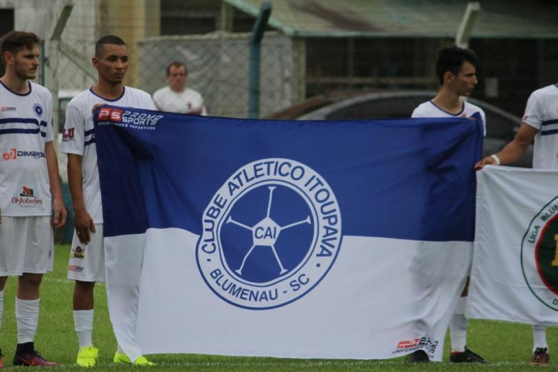 O Atlético Itoupava participa das duas competições | Foto Divulgação/Liga Blumenauense de Futebol