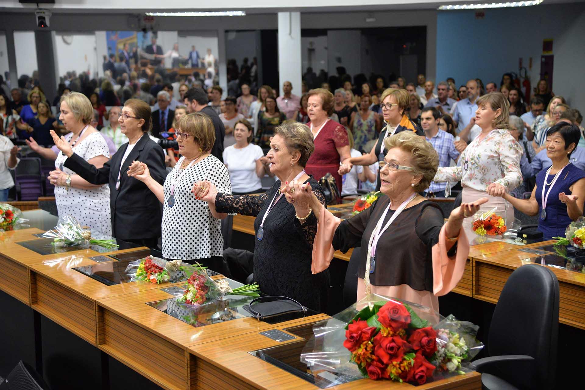 No ano passado, Plenário ficou lotado durante as homenagens. Nesta sexta-feira não deve ser diferente | Foto Divulgação Arquivo/CVJ