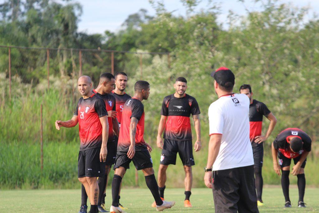 Danilo Portugal realiza último treino no CT | Foto Divulgação/JEC
