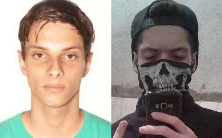 Luiz (E) e Guilherme mataram oito pessoas nesta quarta | Foto: Reprodução/OCP News