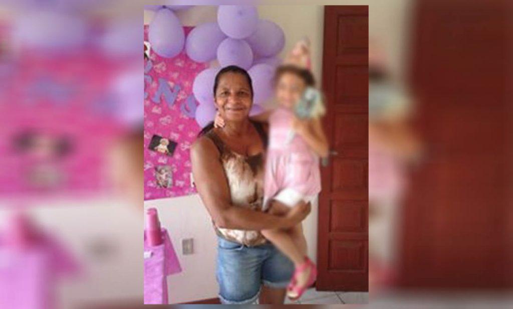 Maria dos Santos Cardoso de Oliveira foi atingida por uma Kombi | Foto Reprodução