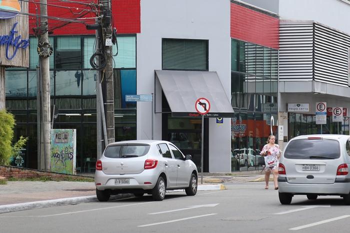 Duas ruas que fazem ligação com a Quintino Bocaiúva terão sentido invertido   Foto Eduardo Montecino/OCP News