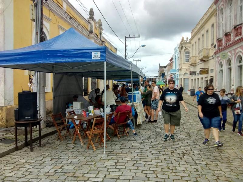 Primeira edição do projeto Viver São Chico movimentou a Babitonga | Foto Arquivo/PMSFS